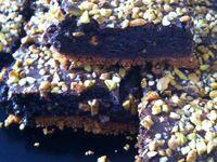 Fondants chocolat,speculoos et pistaches