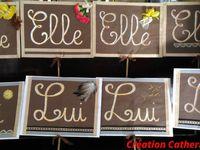 Pancartes créées pour des Jeux d'animation