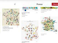Ma Carte de France, ça, elle PLAIT !!! Il me plairait qu'on mette, aussi, mon Copyright. Soupir...