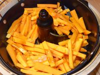 Frites de Butternut à l'actifry ( possible au four)