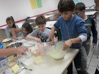 Atelier mini-crêpes fromagère