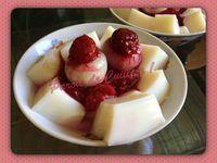 Gelée d'amandes et ses fruits