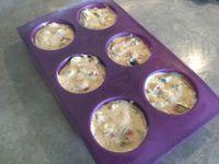 Muffins aux figues fraîches