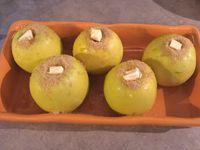 Pommes au four à la cannelle et au muscat