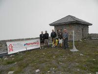 RANDORMILLOUSE 2013 - 300 randonneurs au sommet pour commemorer Chasseurs Alpins et Résistants