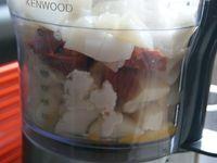 Encornets farcis au chorizo et parmesan
