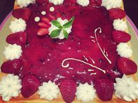 �cheesecakes au fruits des boits�