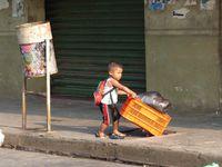 Les rues de León et leurs couleurs