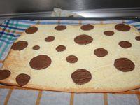 Le &quot&#x3B;Chevron Cake&quot&#x3B; au Nutella