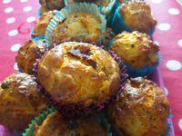 Cakes individuels deux olives, courgette parmesan, citrouille saucisson sec, charcutier, saumon frais zestes de citron...