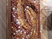 Banana bread au chocolat praliné