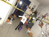 Les décors croisés au fil de nos déambulations #halloween #deguisement #trickortreat
