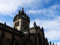 La cathédrale St Giles (derrière laquelle se trouve la statue de Charles II, je vous le rappelle)