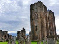 Cathédrale d'Elgin : On voit bien depuis l'extérieur, non ?