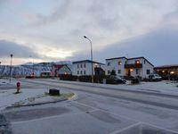 Grundarfjordur : sa neige, ses décorations de noël, sa vue