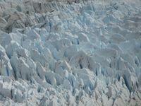 Différentes vues du lac et du glacier