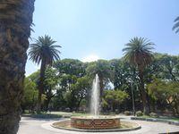 Quelques trucs sympas à voir à Mendoza dont l'incontournable statue du libertador San Martin très populaire dans la région