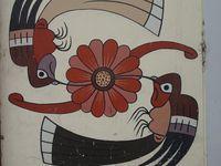 L'art typique de Nasca, coloré et très joli :)