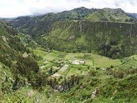 Mirador sur le canyon de Toachi, 3 km avant Chugchilan