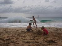 Jeux de plage à Maio