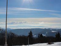 Photos d'Heloise - Sur la derniere j'ai de la neige presque jusqu'aux genoux car j'ai fonce a travers la neige...