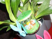 DIY : Faire un petit pot cadeau de Pâques