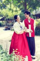 Le hanbok une ligne coréenne de vêtements chics