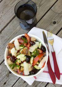 Panzanella, salade italienne peu ordinaire