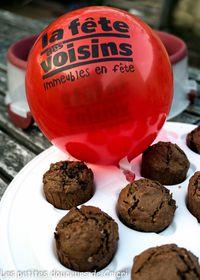 Muffins au chocolat et au muesli pour la fête des voisins