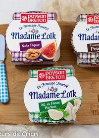 Réveillez vos plateaux de fromages avec les Fromages fouettés Madame Loïk #Concours Inside