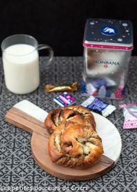 Brioche spirale au chocolat de Noël Monbana #Concours Inside