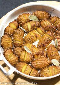 Pommes de terre croustillantes et fondantes à la fois
