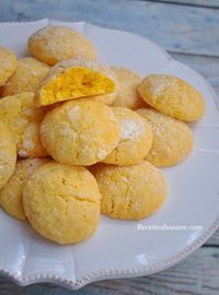 Biscuits fondants au citron