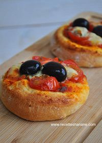 Mini Pizza pâte pan