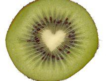 Un coeur de kiwi