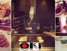 J'ai testé un resto teppanyaki à Paris: chez OKI, plein la vue et les papilles.