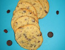 Cookies choco-canneberges