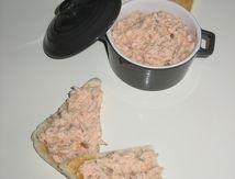 Rillettes légères de saumon