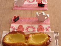 Lunettes à la crème pâtissière vanillée