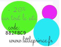 Les soldes d'Hiver sur Littleprince.fr