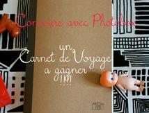 Mon carnet de Voyage...Concours avec Photobox!!!