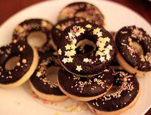 Recette de minis Donuts au four!