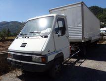 Camion Tracteur Renault B90 RVI SREM Trouillet Fourgon Alu