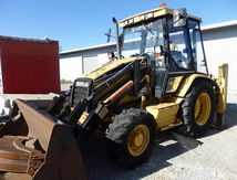Tractopelle Caterpillar 4x4 CAT 180C