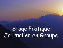 Stage Pratique Journalier en Groupe