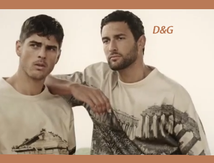 Dolce & Gabbana collezione 2014 for men e backstage Adam Senn e Tony Ward