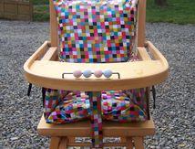 Coussin de chaise haute bébé
