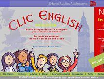 Clic English ecole d'anglais à Toulouse