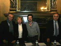 Dan Inger apresentou livro no Consulado em Paris