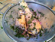Poulet mariné au jus de citron